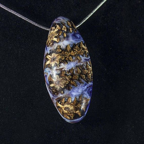 Unique Fir Cone Necklace