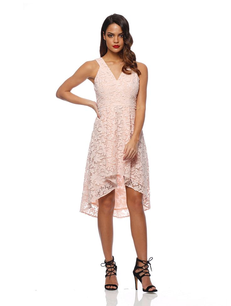 Romance The Label - Mona Ball Dress Blush