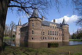 Kasteel Helmond is een vierkante middeleeuwse waterburcht in het centrum van de stad Helmond.(14e eeuw). Noord Brabant
