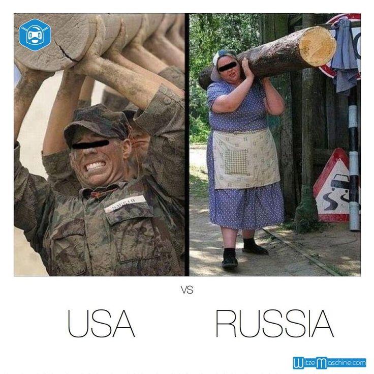 USA gegen Russland - Amerikaner Witze & Russen Witze
