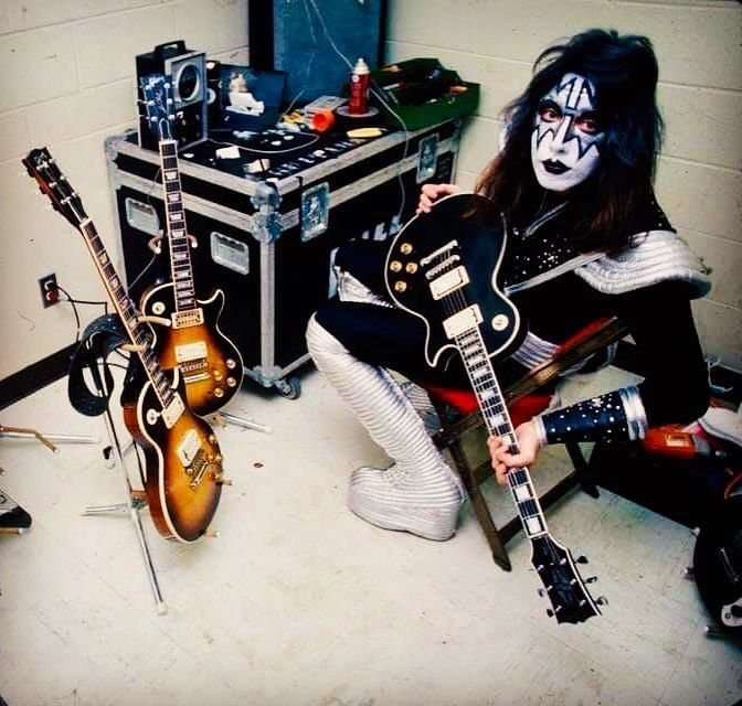 Ace Frehley Backstage Destroyer Tour 1976 Kiss