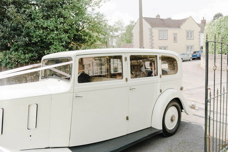 A Rolls Royce Silver wraith from the Yorkshire Wedding Car Company...the only way to travel!  Folega Photography