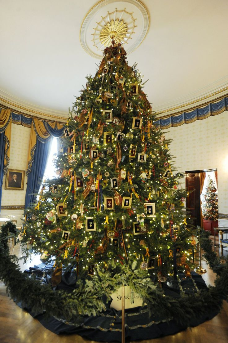 White house christmas ornaments 1993 - White House Christmas Tree 2011