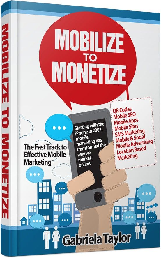 MOBILIZE TO MONETIZE: Consumers continue to rely on mobile devices more & more throughout the day & for different purposes. As such, they are more likely to pay attention to messages sent to their mobile devices. Throughout this book I will cover the advantages & disadvantages of #mobilemarketing as well as 12 ways of engaging with your mobile community. http://www.amazon.com/dp/B009KLM756