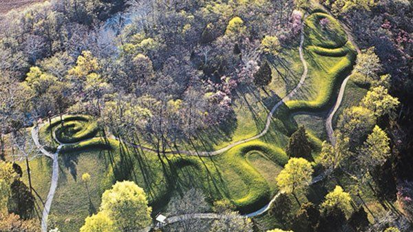 The Serpent Mound - multiple visits, most recent April 2017