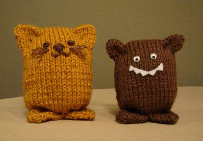 Easy and Cute Knit Amigurumi Animals - FREE Knitting Pattern and Tutorial