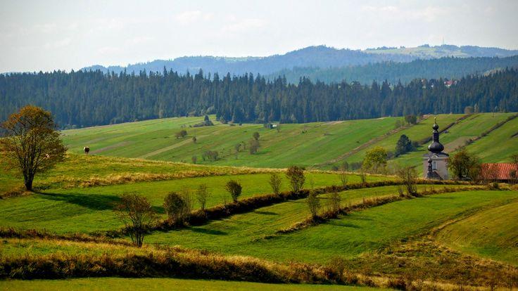 Polska, Podhale, okolice Nowego Targu