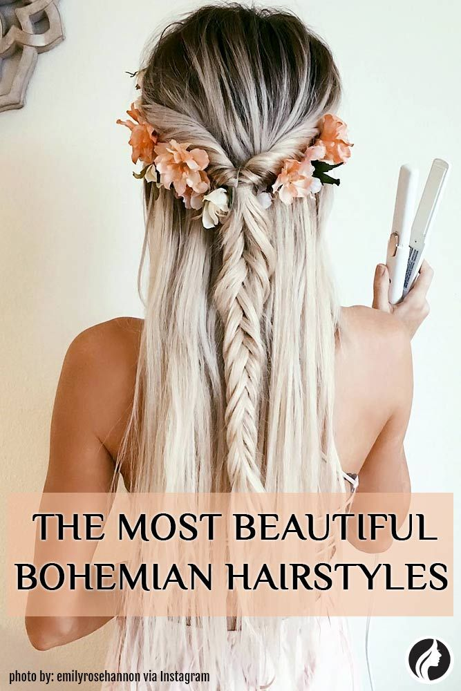 Bohemian hairstyles are oriented on romantic souls who wish to look amazing. We have picked the most flattering boho hairstyles for you to try.