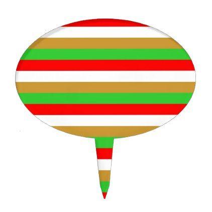 Tajikistan flag stripes cake topper - pattern sample design template diy cyo customize