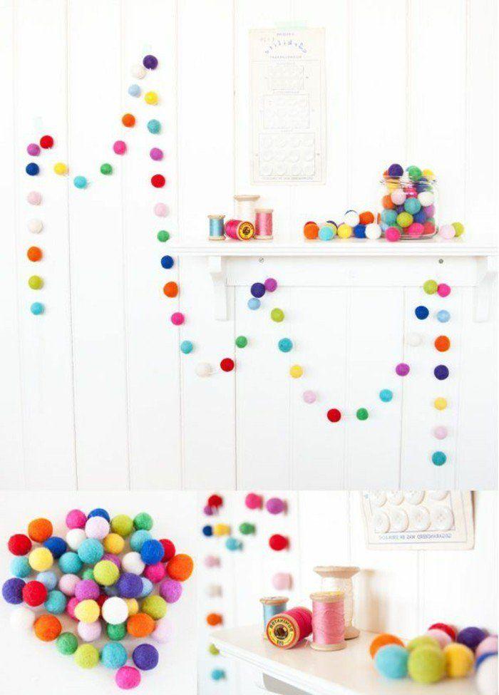 comment bien décorer les murs, deco noel exterieur avec guirlande de Noël