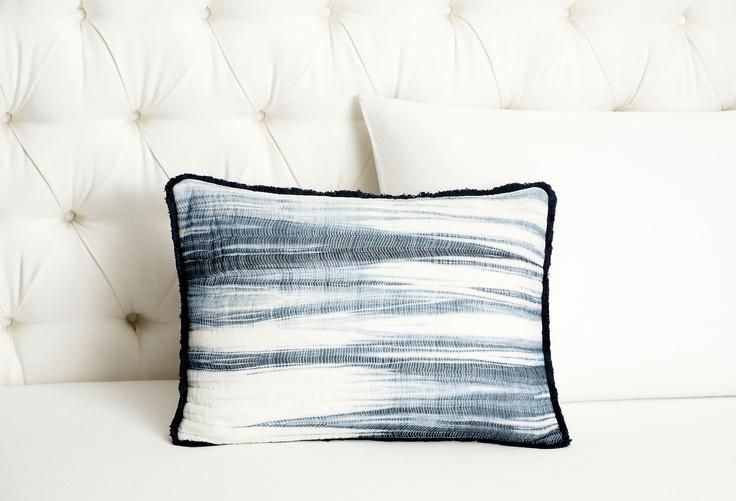 One Kings Lane Vera Wang Bedding Shibori Dec Pillow