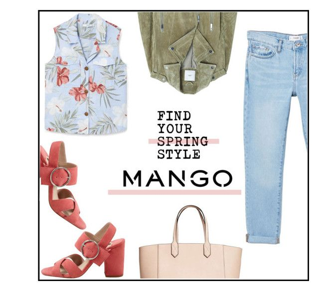 """""""monobrand set"""" by ceci4diplomazy on Polyvore featuring MANGO"""