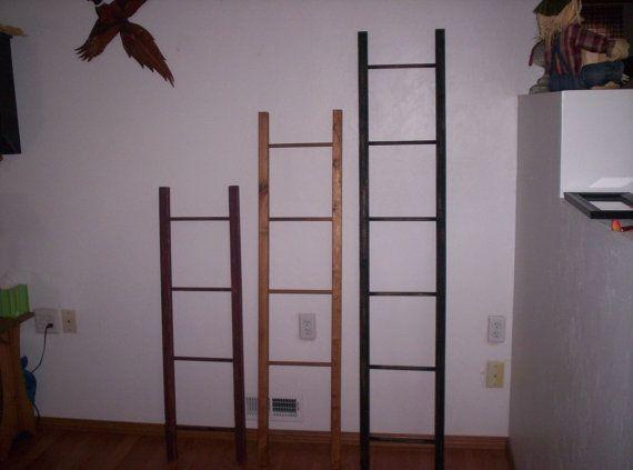 Appy 6 ft Display & Storage Ladder, Quilt Ladder, Blanket Ladder, Decorative Orchard Ladder, Library Ladder, Scarf Ladder, Towel Rack