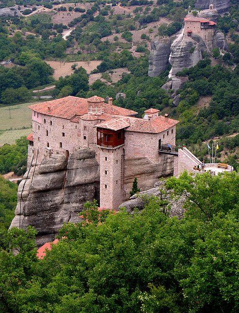 Holy Monastery of Rousanou, Kalambaka, Greece
