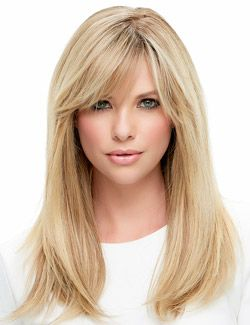 Lea Wig by Jon Renau...Powerful, elegant and versatile, this long style is a natural knockout. • Featuring a Hand Tied Monofilament Cap that allows flawless wig parting in any direction. It can be heat and/or hot ironed styled with traditional beauty appliances for styling variations. Lea can also be cut or trimmed to your liking. Additionally, this wig features Remy Human Hair, which is the highest quality human hair