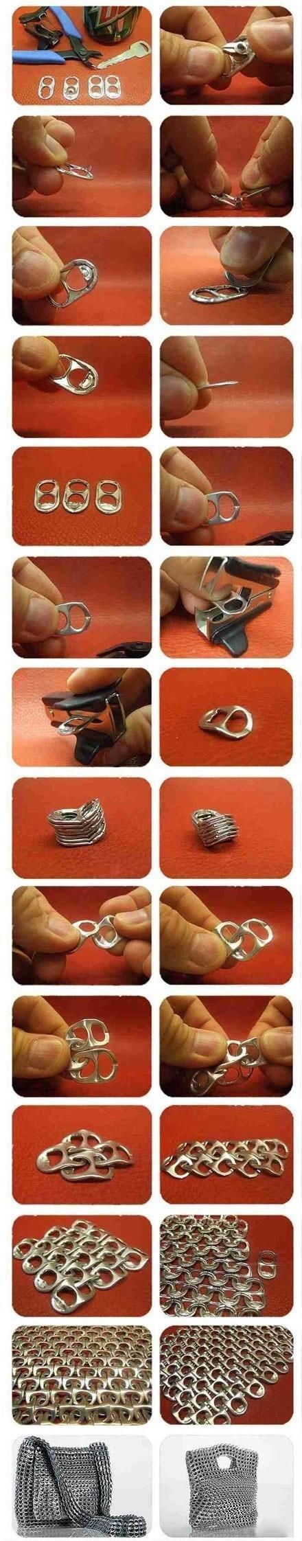 What You Can Accomplish With A Few Ring Pulls