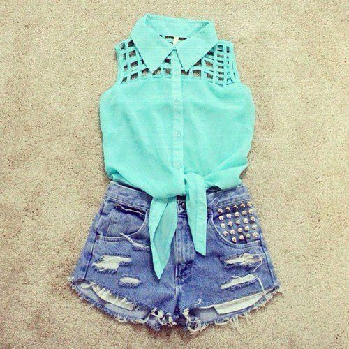 cute outfits with shorts - Google Search