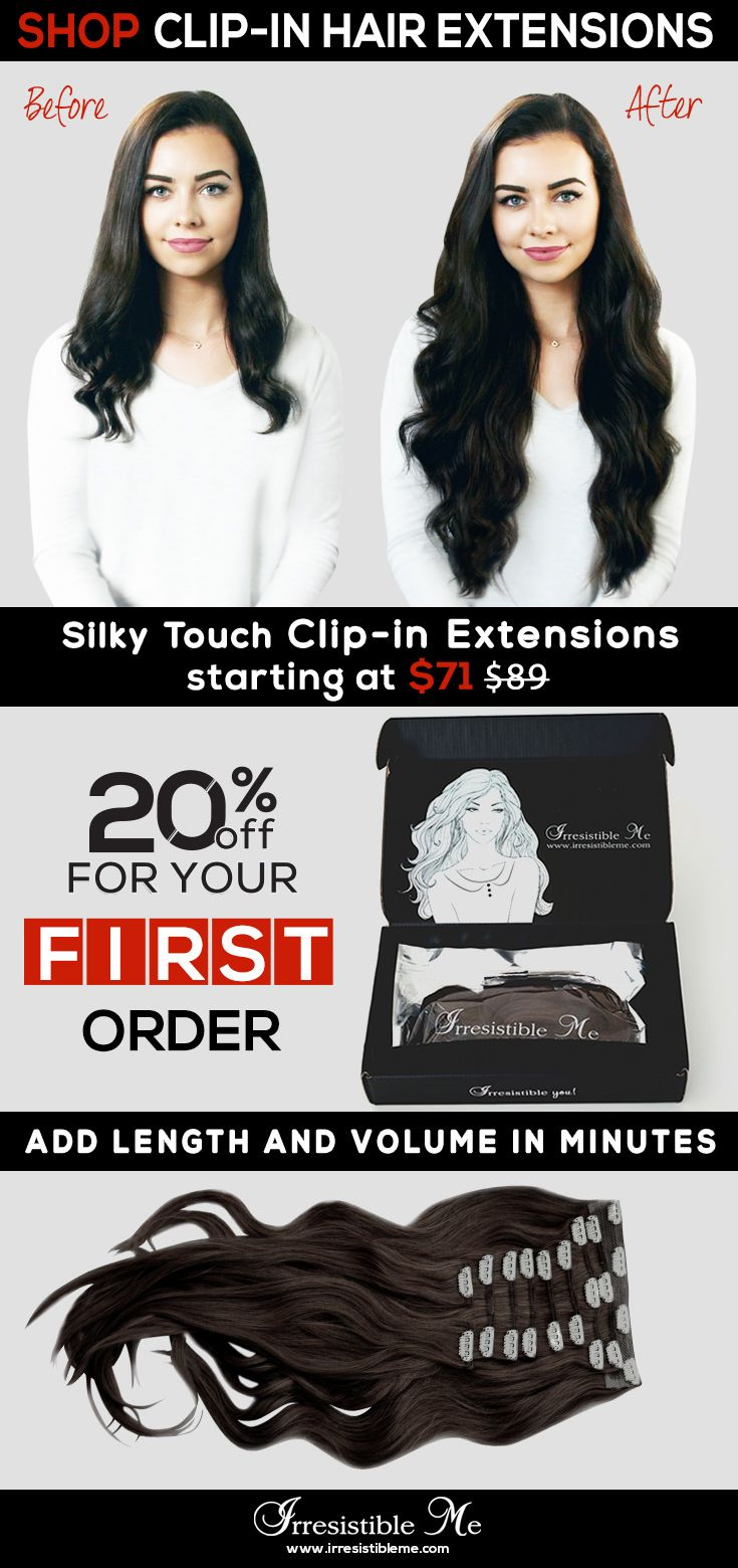487 best irresistible me clip in hair extensions images on sign up and get 20 off for your first order add length and volume pmusecretfo Choice Image