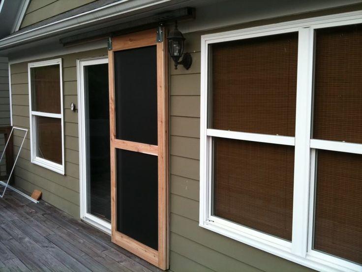 1000 ideas about sliding screen doors on pinterest garage door sizes screen doors and garage. Black Bedroom Furniture Sets. Home Design Ideas
