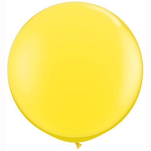 Sorbet Giant Balloons and Giant Wedding Balloons by The Giant Balloon Company. www.thegiantballooncompany.com *Yellow*