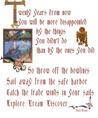 "St. Brendan ""Connections Quote""A free downloadable print from SaintsPreserved.com"