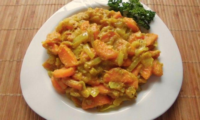 Rebarborovo - mrkvová směs
