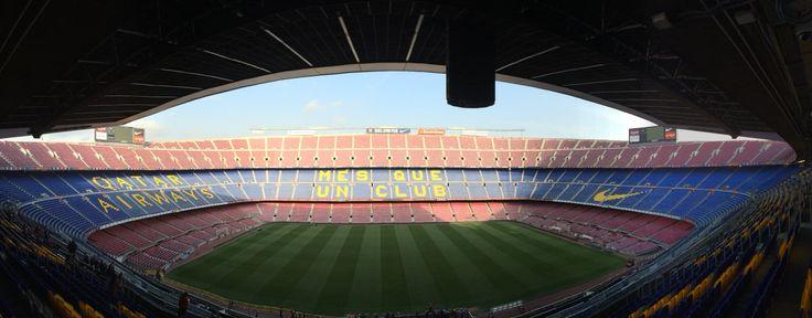 Camp nou. Barcelona, España.