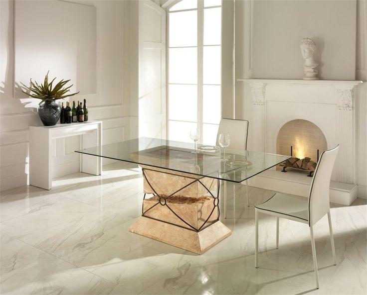 Oltre 25 fantastiche idee su Esstisch mit glasplatte su Pinterest - runder küchentisch weiß