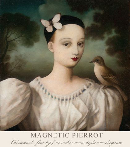 Stephen Mackey's Whimsical Classically-Inspired Paintings | Hi-Fructose Magazine
