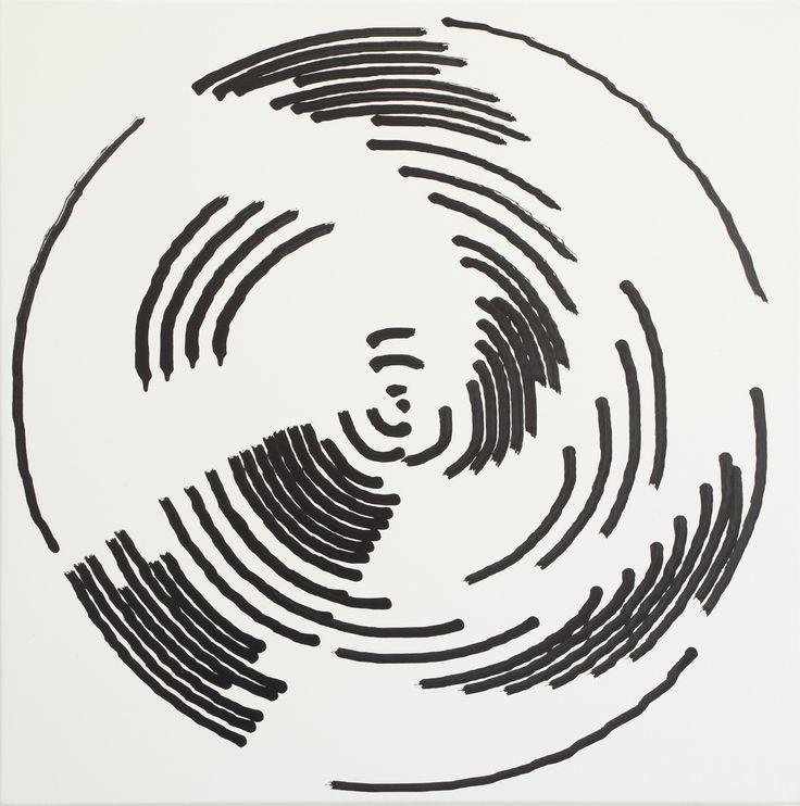 Simon Ingram, No 3, 21 July, 2014, sum 1324.815, Oil on Linen, 850 x 850mm