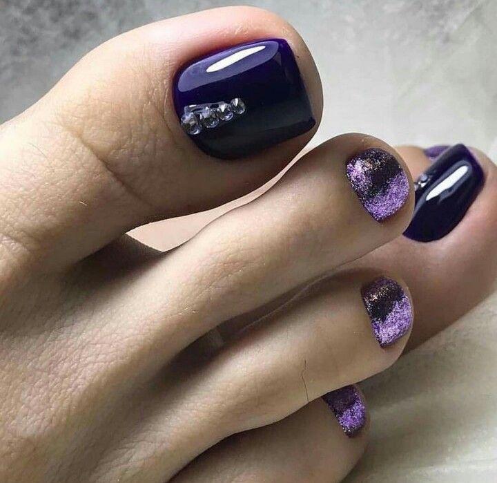 Pin By Anna Minyajlenko On Nails Purple Toe Nails Pretty Toe Nails Toe Nail Designs,Exterior Simple Minimalist House Design
