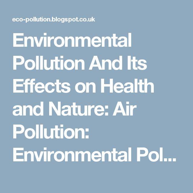 environmental imbalance essay