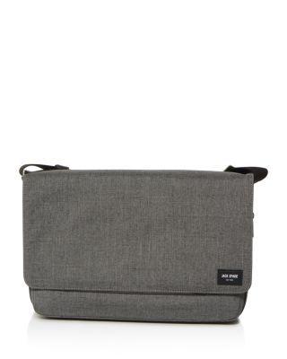 JACK SPADE Tech Oxford Zip Messenger Bag. #jackspade #bags #shoulder bags #cotton #