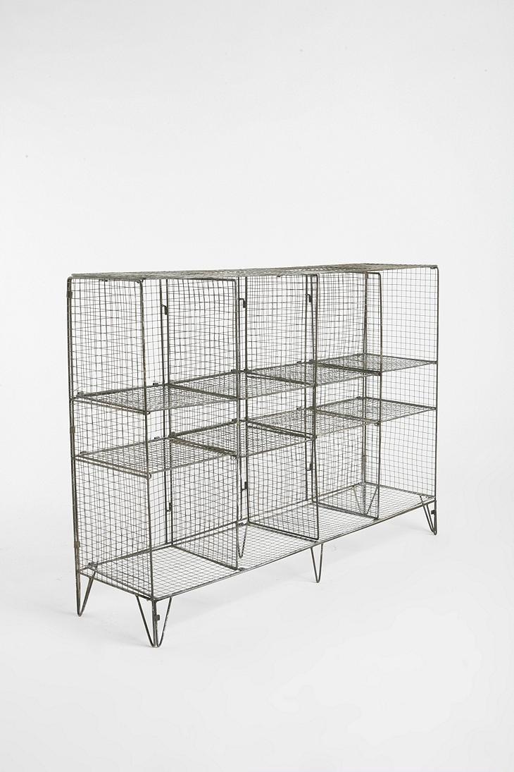 Gymnasium storage shelf