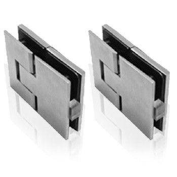 Soft Close Glass to Glass Hinge - set of 2