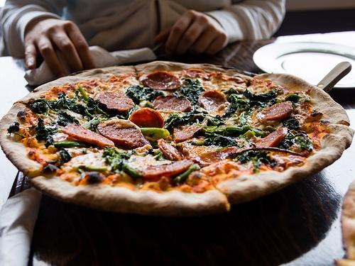 Nona's Pizza. Jojo Pizza.