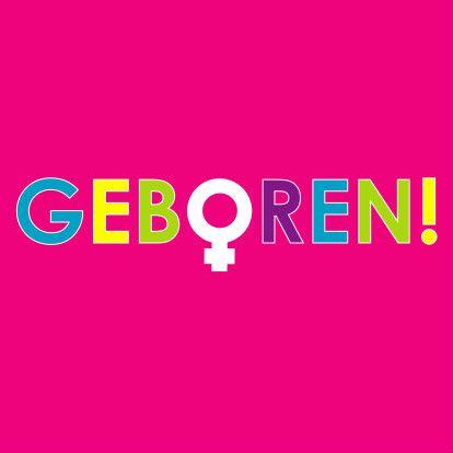Knallende geboortekaart meisje - Geboortekaartjes - Kaartje2go