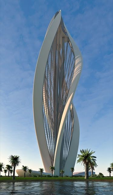Blossoming, Dubai ~ 14 Interesting Building Designs Around the World