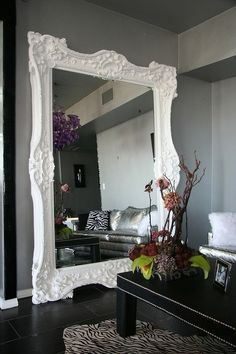 40 Magnificent Interior Designs With Big Mirrors