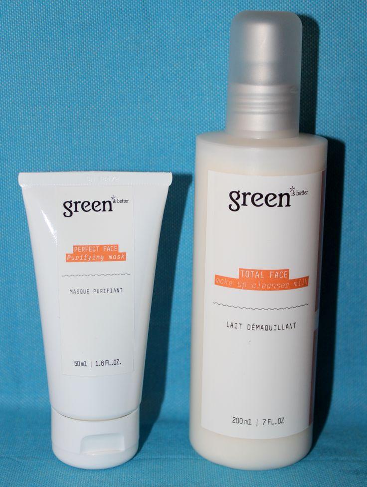GREEN IS BETTER Cosmetics : et le bio devient agréable et efficace