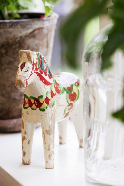 dala horse ... use to be obsessed with these.