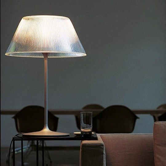Romeo Moon T: Discover the Flos table lamp model Romeo Moon T