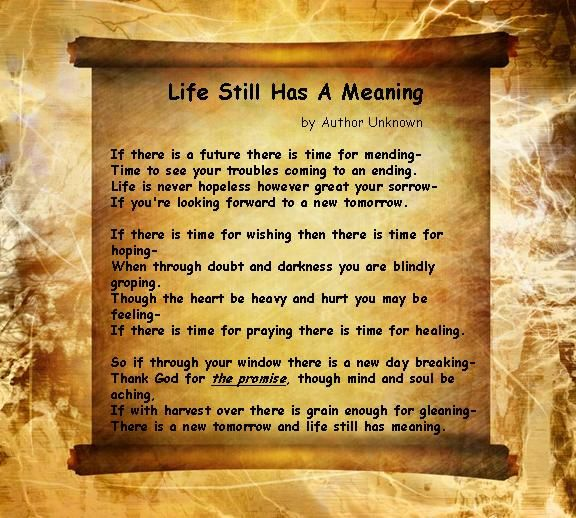 Poems About Life | Inspirational-Poems-Poem about the true meaning
