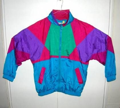 windbreakers in ridiculous colors.