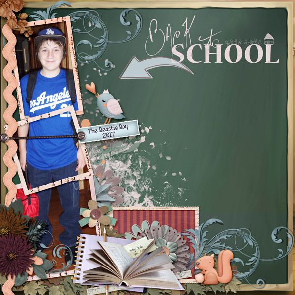 Layout by smikeel using several September Mix and Match kits https://scrapbird.com/-c-83/blue-bird-mix-and-match-c-83_562/