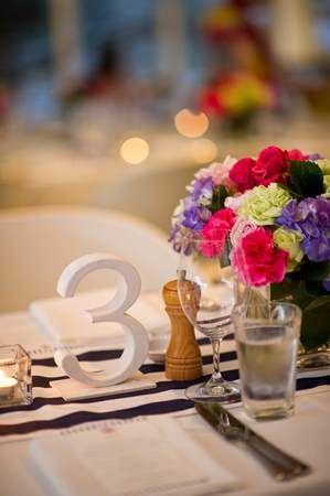 White Wooden Table Numbers - Lovebird Weddings Noosa, Australia
