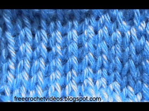 Tunisian Knit Stitch - YouTube