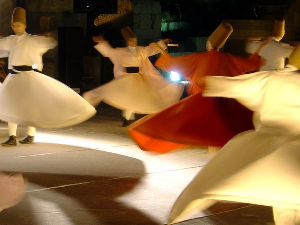 whirling dervishes!