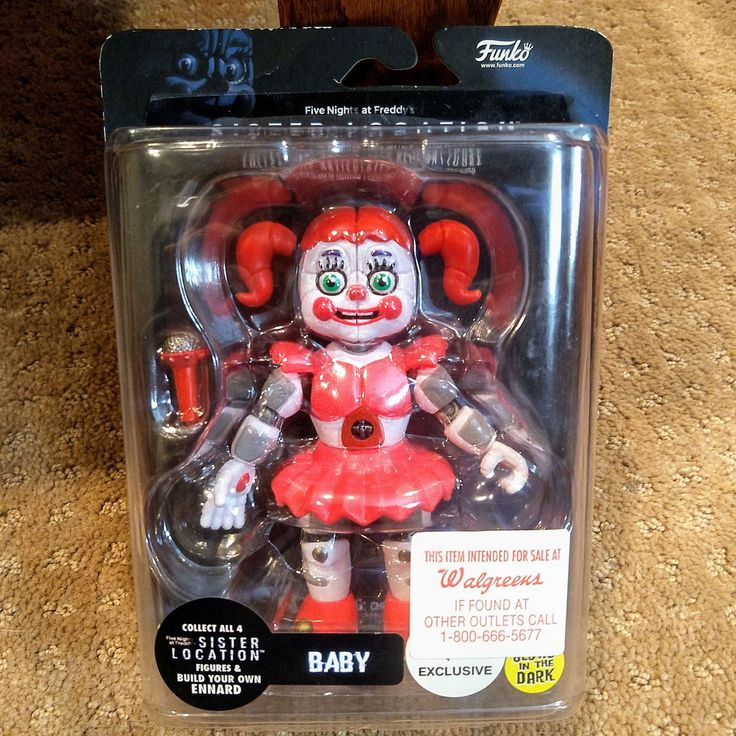 Funko five nights at Freddy's Sister location BABY 5