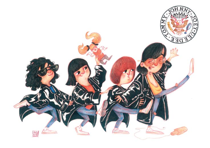 Ramones: Gabba Gabba Hey! Susanita's Little Gallery on Behance